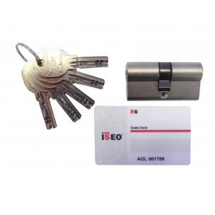 Cylindre de sûreté R6/TECH 6 à 2 entrées
