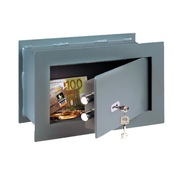 Coffre fort mural pointsafe pw 2 cl d 39 or vente de for Coffre fort mural