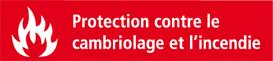 Les coffres forts Combi-Line ont une protection anti-feu